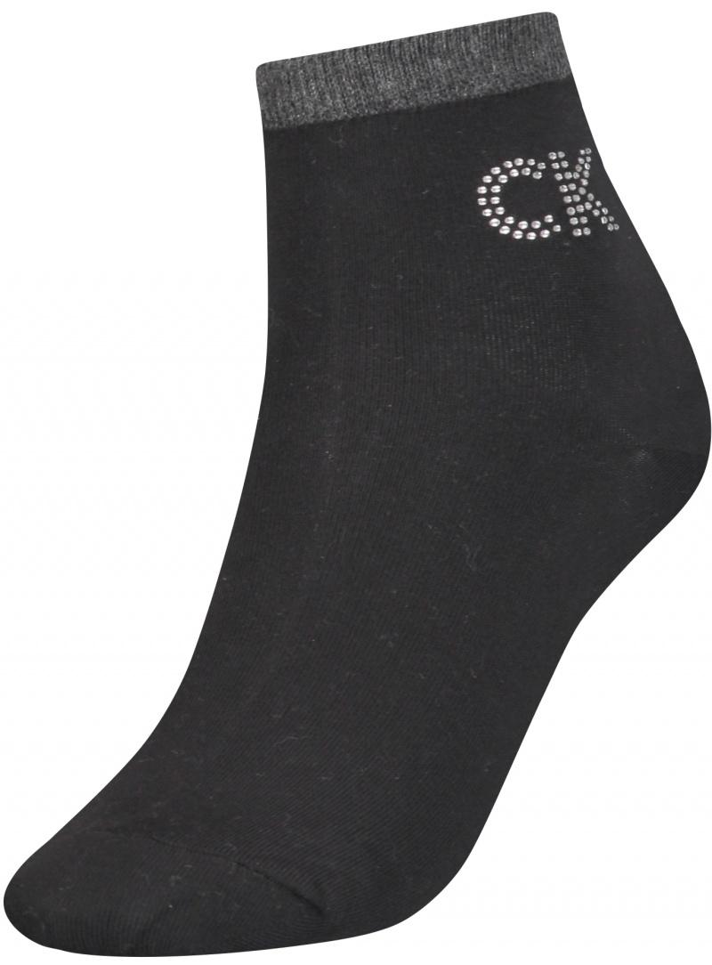 Skarpetki Damskie 701218782 001 CALVIN KLEIN Women Short Sock 1P