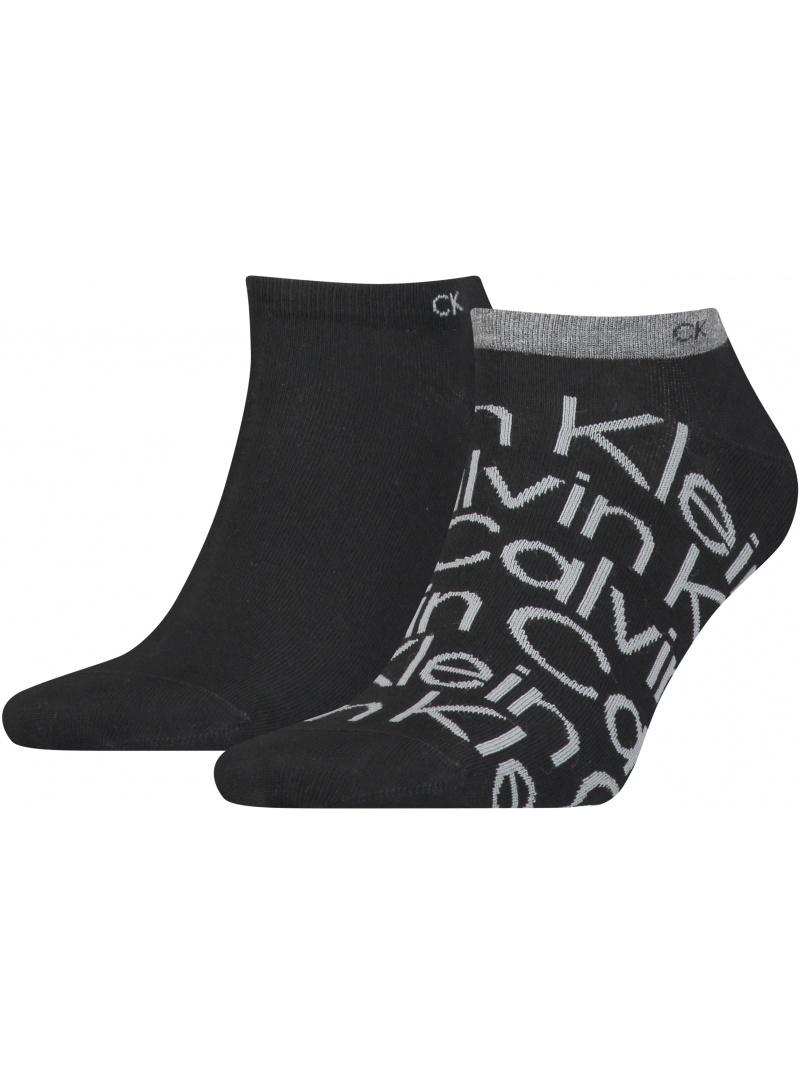 Skarpetki Męskie 701218714 001 CALVIN KLEIN Men Sneaker (2-pak)