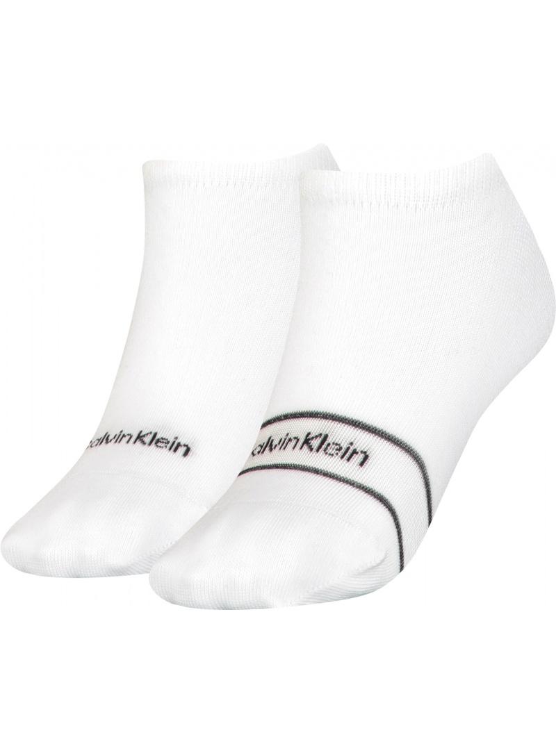 Skarpetki Damskie 701218776 002 CALVIN KLEIN Women Footie High Cut 1P