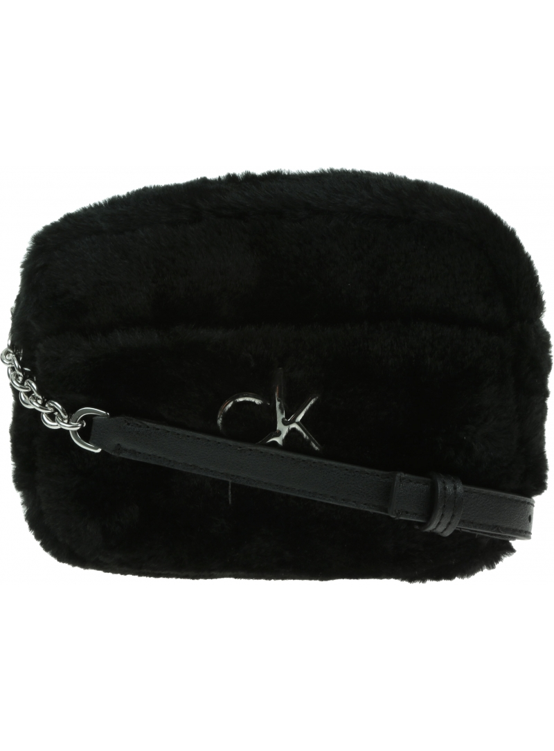 Torebka Listonoszka CALVIN KLEIN Re-Lock Camera Bag Fur K60K608590 BAX