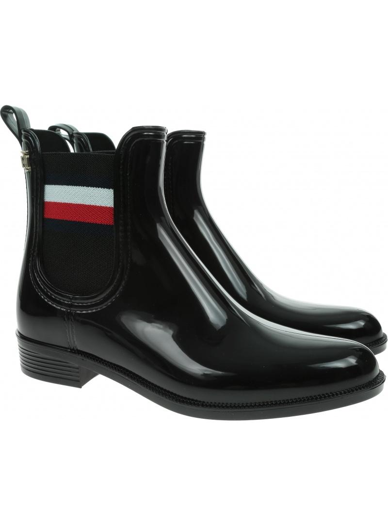 Kalosze Tommy Hilfiger Corporate Ribbon Rainboot FW0FW05969 BDS