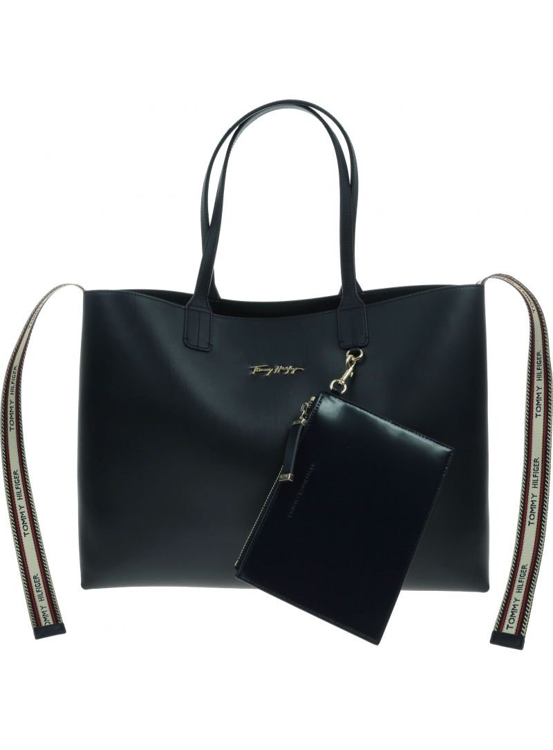 Torebka TOMMY HILFIGER Iconic Tommy Tote AW0AW10272 DW5