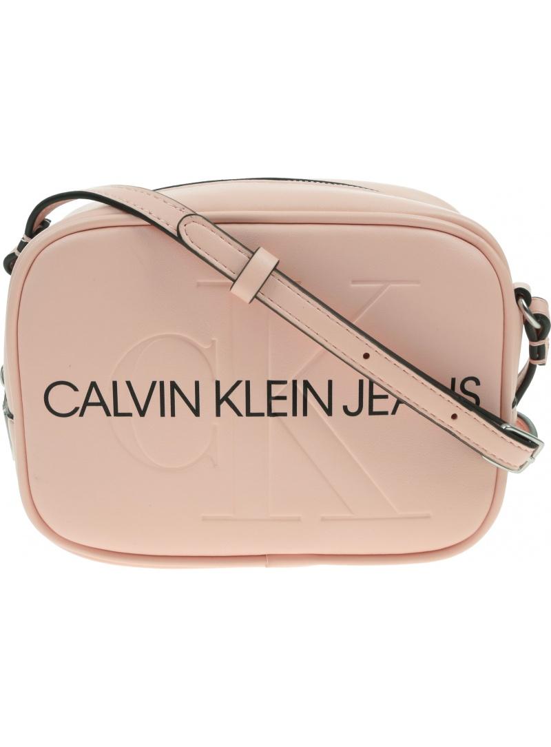 Różowa Torebka CALVIN KLEIN JEANS Camera Bag K60K608373 TA9