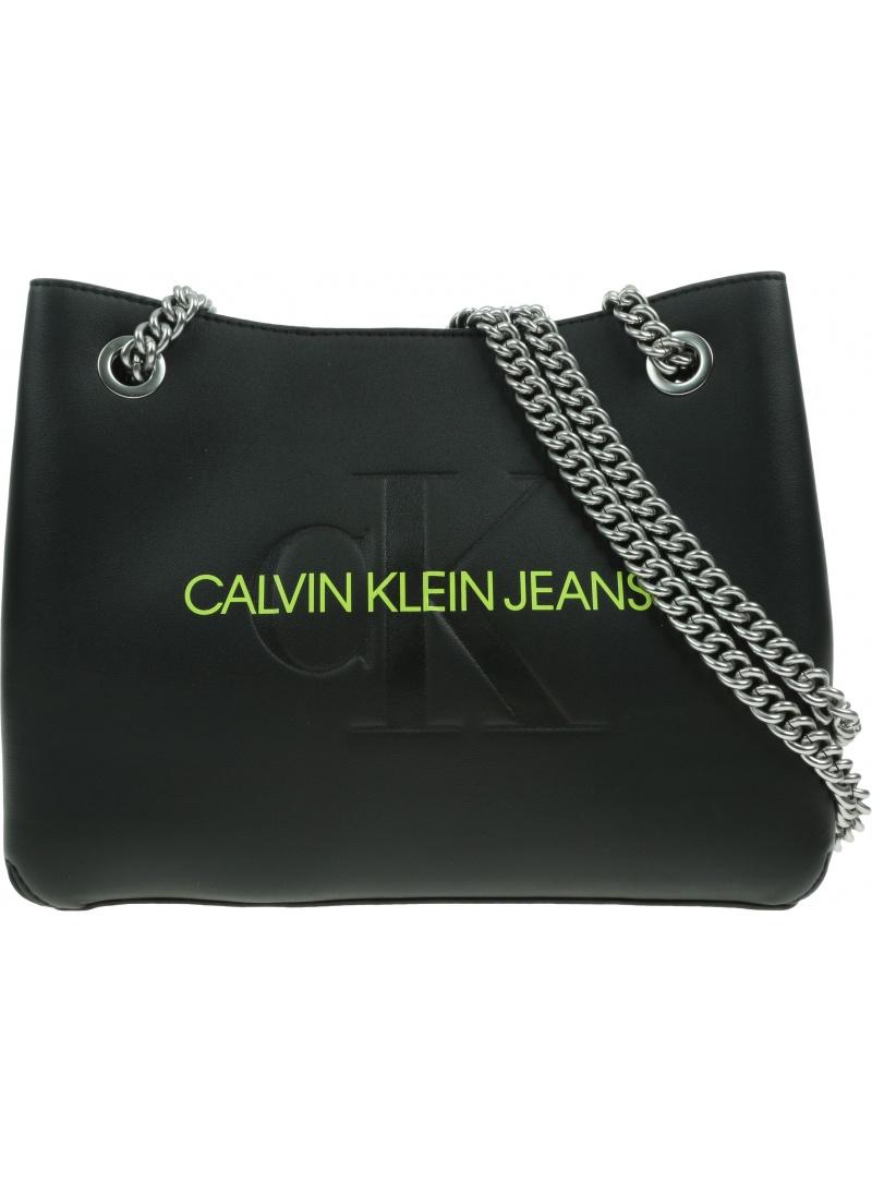 Torebka CALVIN KLEIN JEANS Sculpted Cony Shoulder Bag K60K608690 BDS