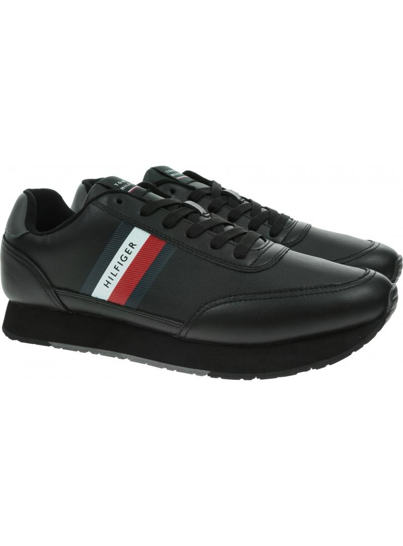 Sneakersy Męskie TOMMY HILFIGER Essential Runner FM0FM03814 BDS