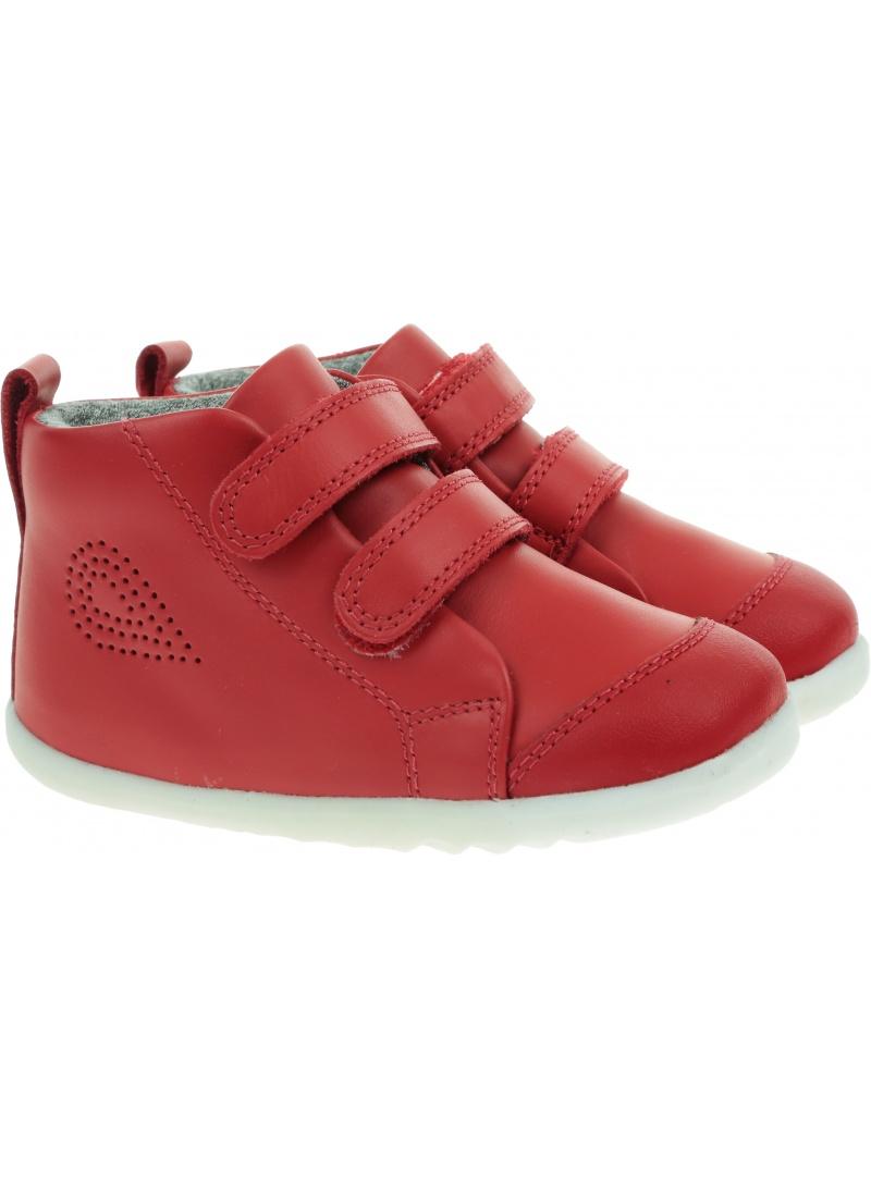 Czerwone Półbuty BOBUX Hi Court Red 731805