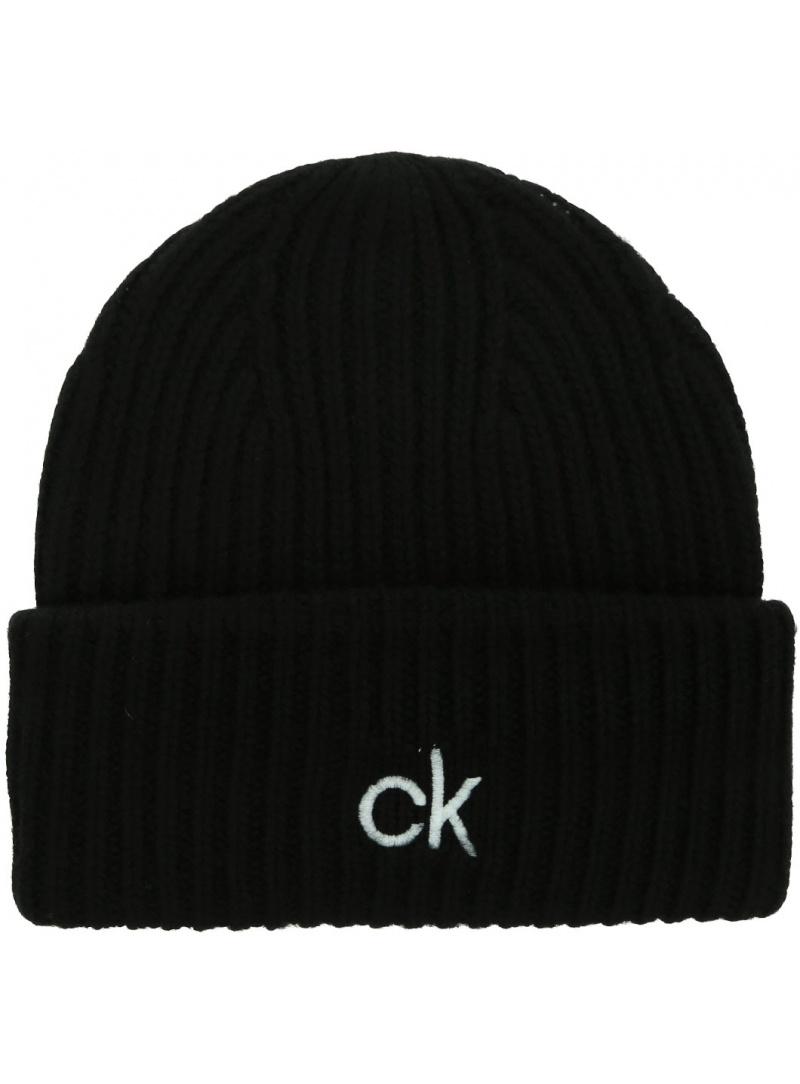 Czapka Zimowa CALVIN KLEIN Organic Knit Xl Beanie K50K507445 BAX