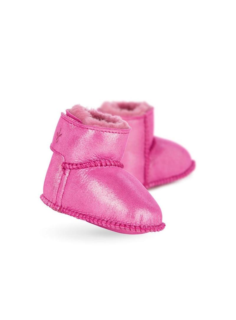KOZACZKI EMU Baby Bootie Metallic Hot Pink