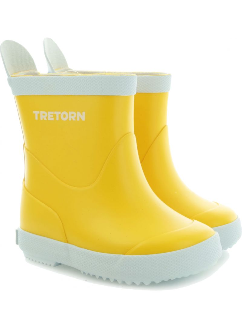 KALOSZE TRETORN WINGS KID'S YELLOW 473102