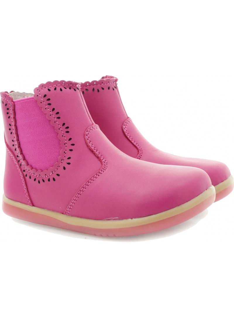Boots BOBUX 626905 FUCHSIA GIRLS LUCKU LACEY BOOT