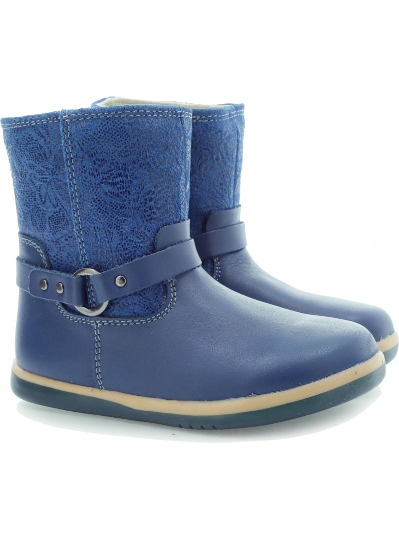 Boots BOBUX 630202 DUTCH QUEST BLUE GIRLS STRAP BOOTX