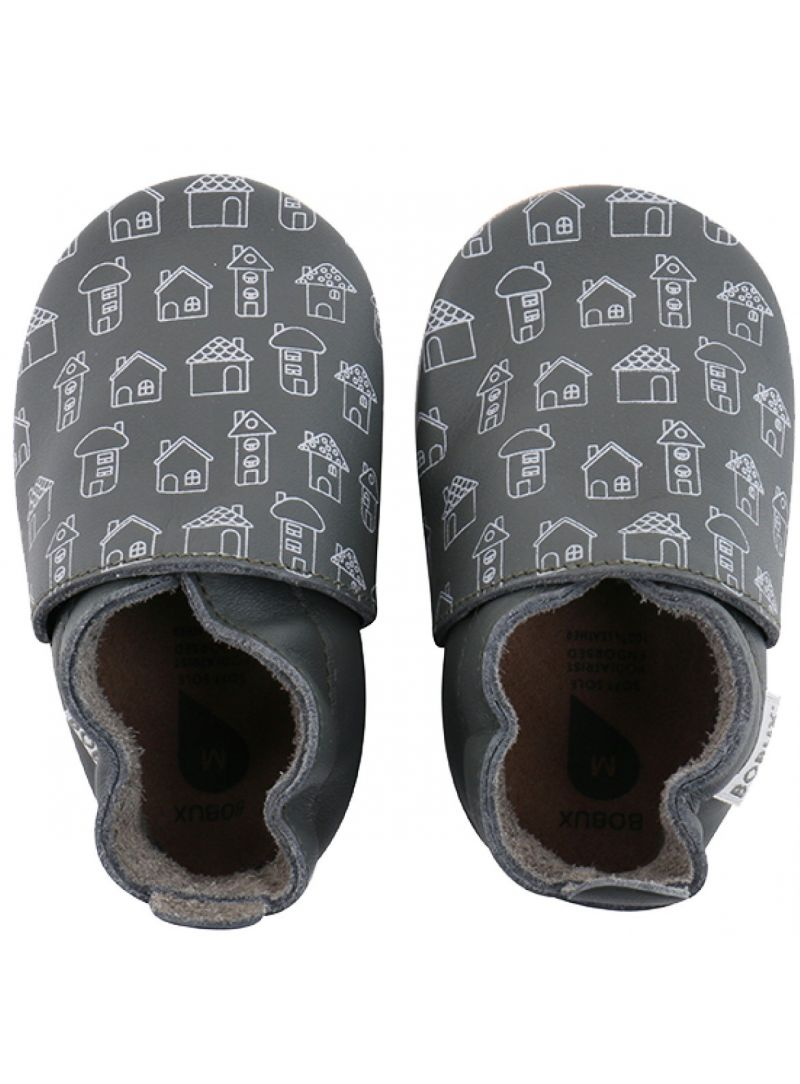 BUCIKI BOBUX 4414 ARMY HOUSE PRINT SOFT SOLE