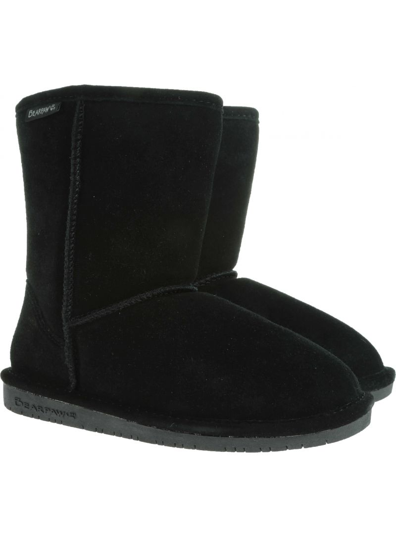 BOTKI BEARPAW EMMA YOUTH 608Y BP608Y BLACK