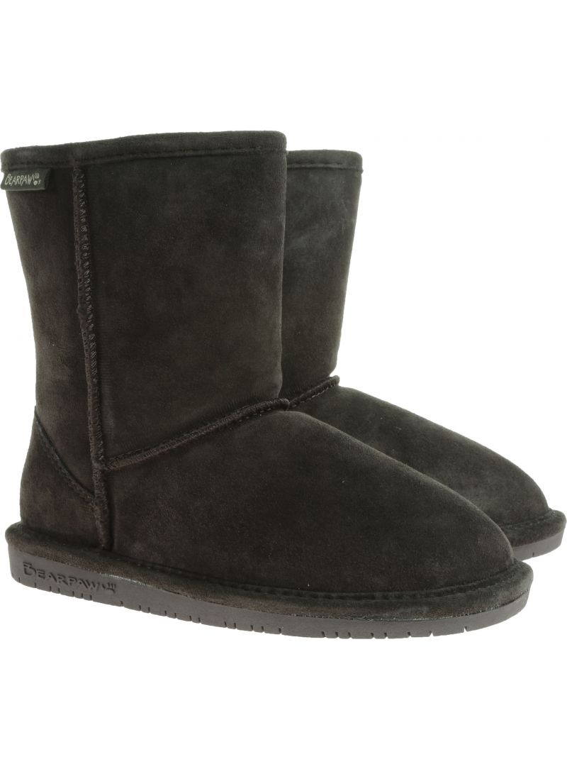 BOTKI BEARPAW EMMA YOUTH 608Y BP608Y CHOC