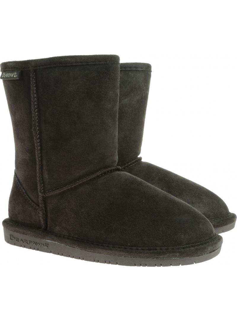 Home shoes BEARPAW EMMA YOUTH 608Y BP608Y CHOC