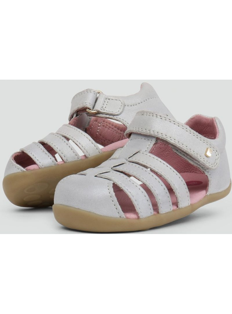 Sandals BOBUX 723419 JUMP SANDAL SILVER SHIMMER