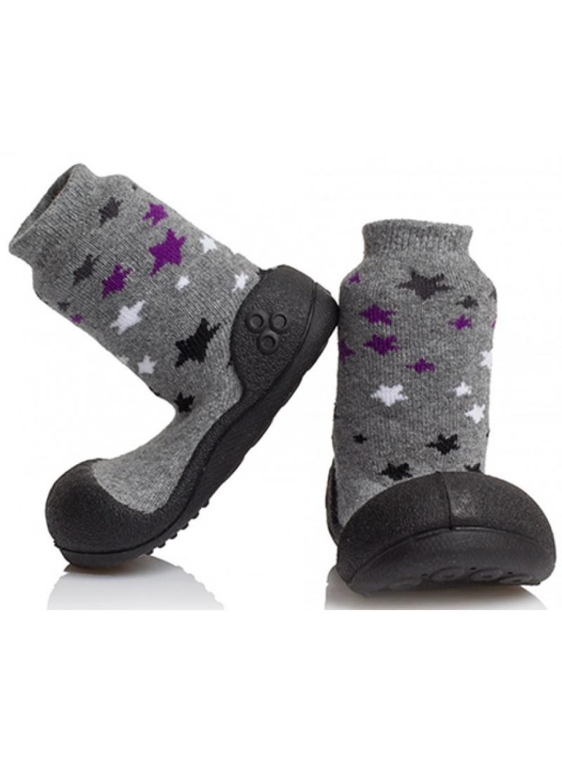 Socken ATTIPAS TWINKLE BLACK