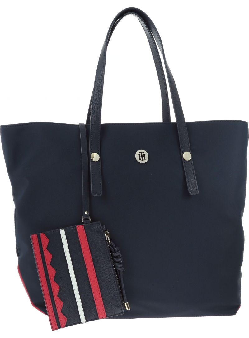 TOMMY HILFIGER City Tote Nylo AW0AW05451 901
