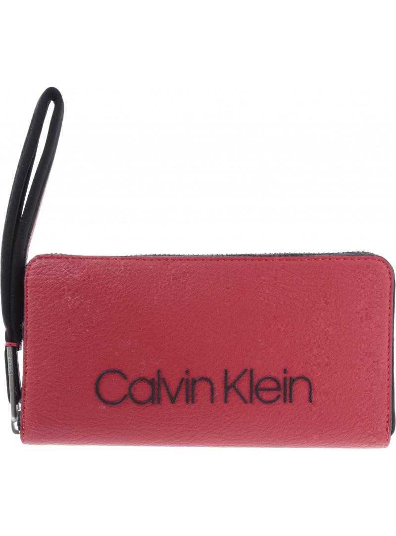 Portfel CALVIN KLEIN Pop Touch Large Zipa