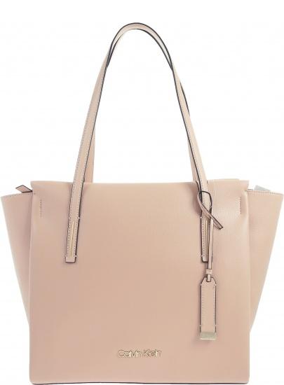 Różowa Torba CALVIN KLEIN JEANS Ck Base Medium Shopper K60K604427 007 863c532a327