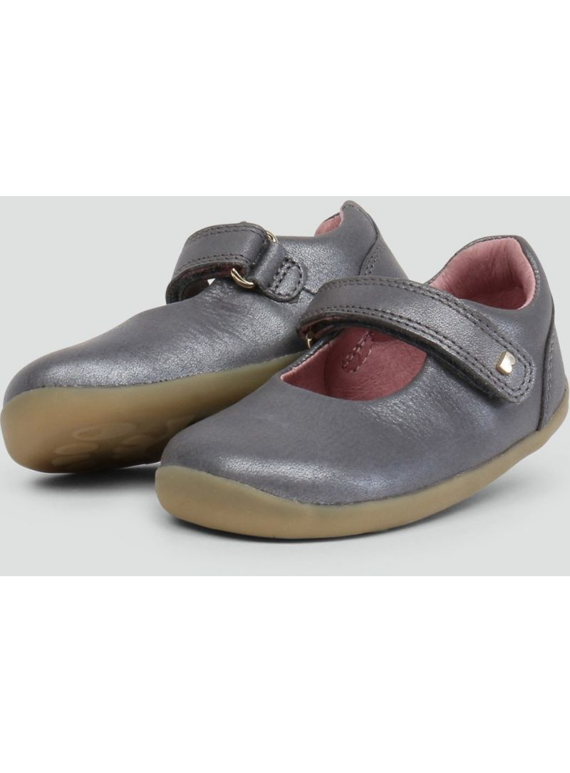 BALERINKI BUTY BOBUX 728405 DELIGHT MARY JANE CHARCOAL