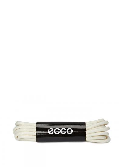 ECCO laces ice white...