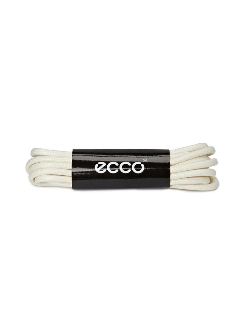 ECCO laces ice white sznurowadła beżowe