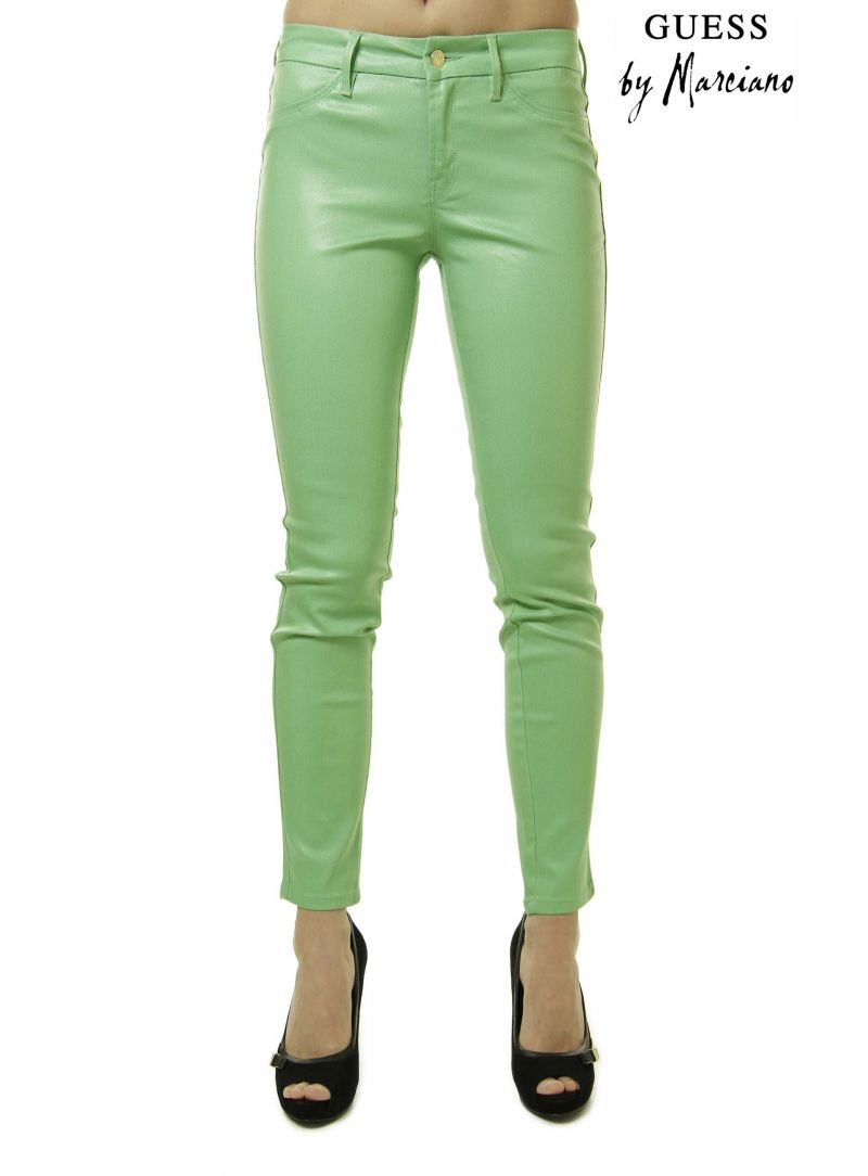 Kleider GUESS BY MARCIANO DENIM PANTS 32W1649086Y 0062