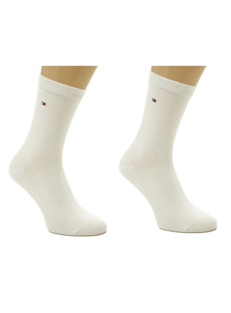 Kalhoty TOMMY HILFIGER Women Sock Casual 2 Pairs White