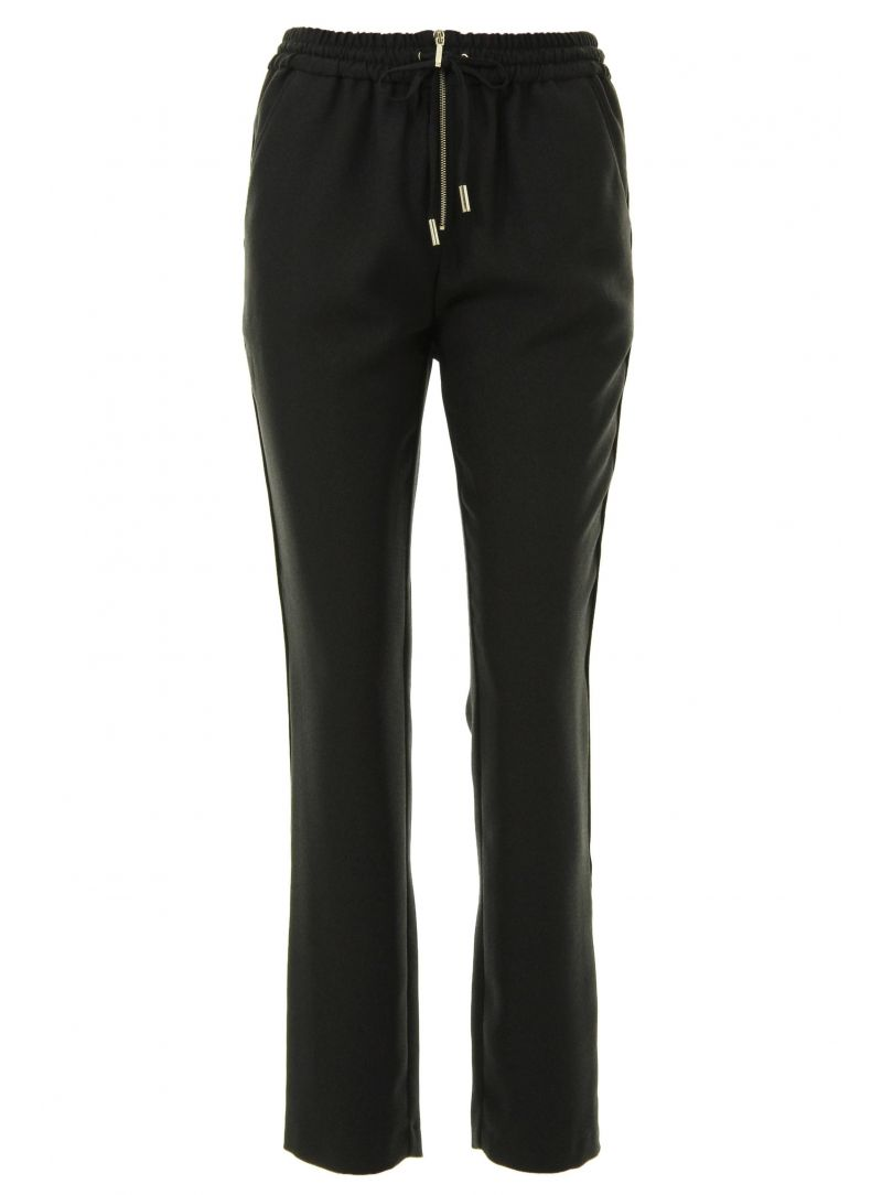 SPODNIE GUESS BY MARCIANO CAPRI PANTS BLACK