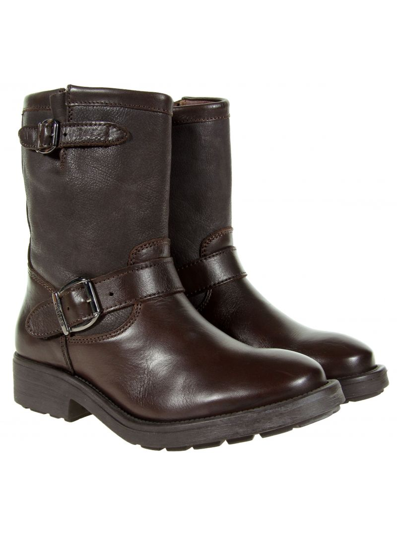 Klín GUESS LOLA SHOOTIE LEATHER MORO