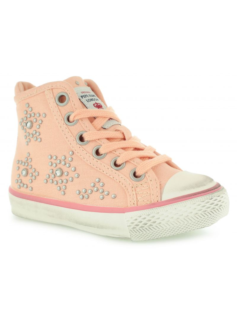 Sandály PEPE JEANS PGS30002 DUBSTEP 119 PASTEL ORANGE