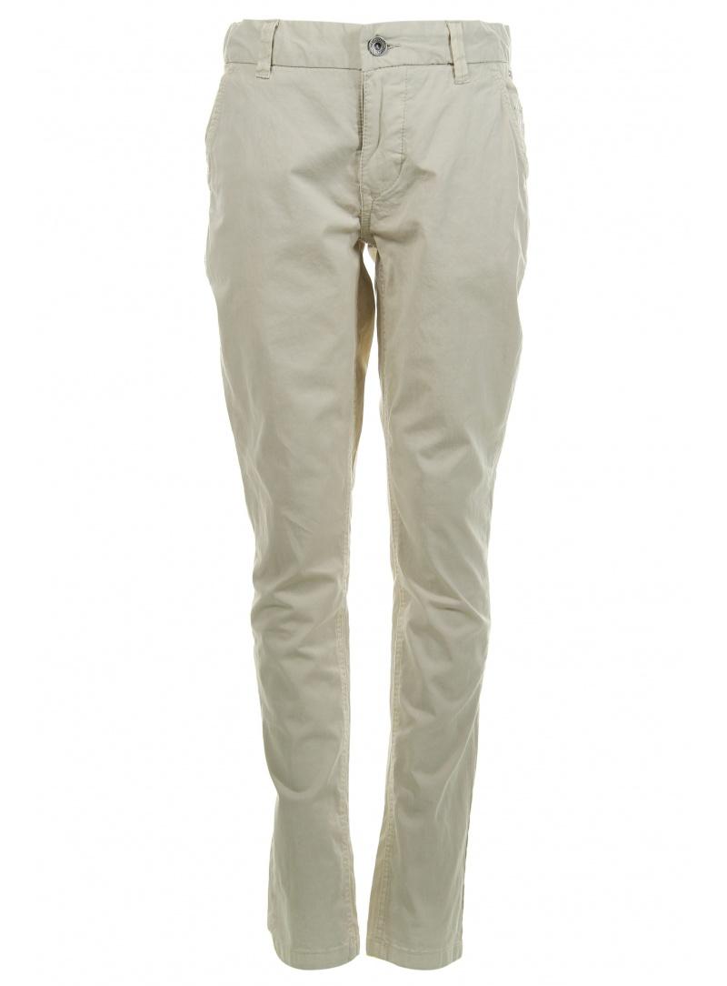 Chłopięce Spodnie TOMMY HILFIGER Freddy Chino Garment Dyed Oyster Gray