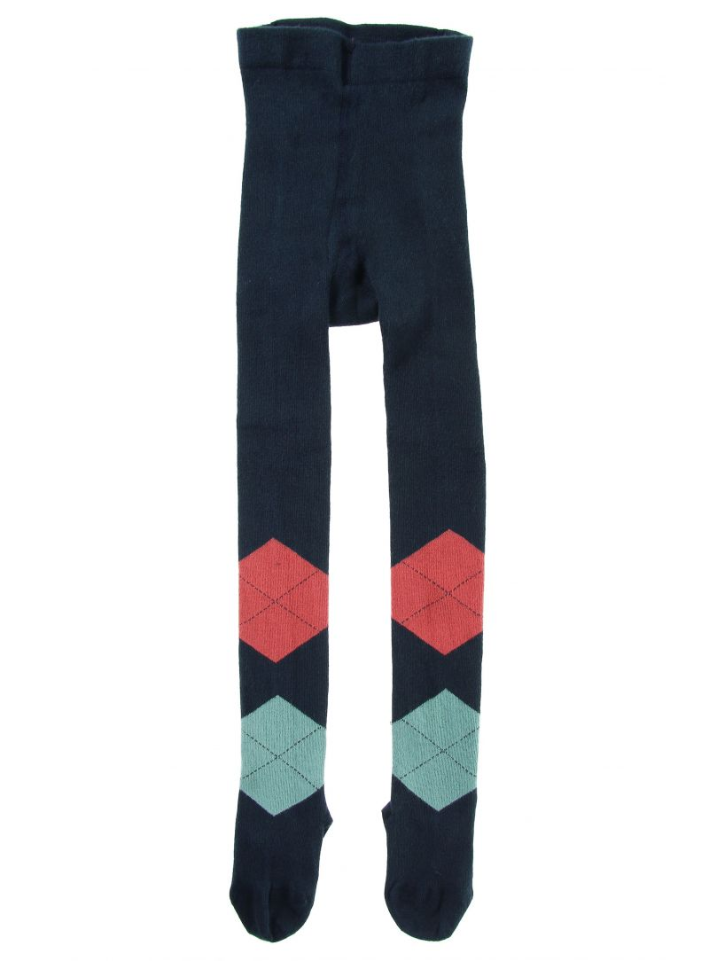Sweaters TOMMY HILFIGER Kids Blowup Argyle Tights 563 Midnight
