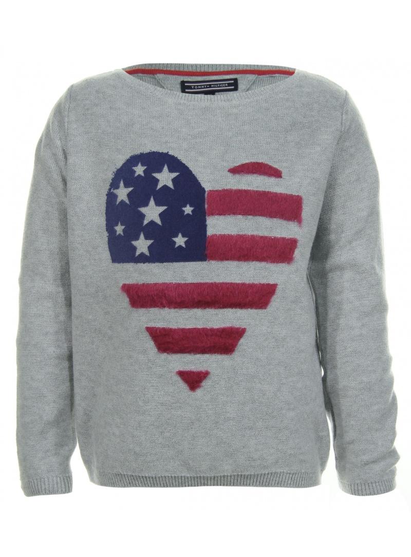 Blusen, T-Shirts TOMMY HILFIGER Star Mini Sweater Long Sleeve