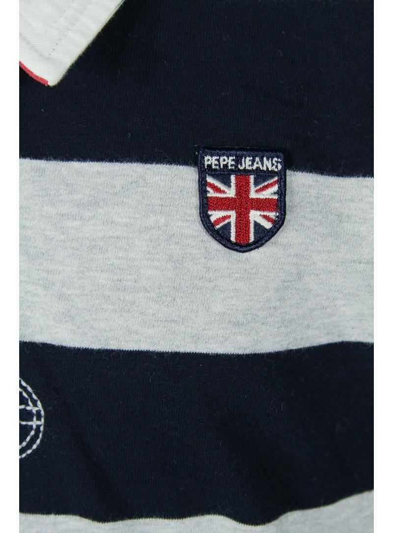 f02b2f2de46 Svetry TOMMY HILFIGER Phill Rugby Long Sleeve Black Iris