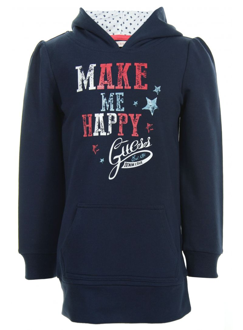 BLUZA GUESS LONG SLEEVE SWEATSHIRT WITH HOOD K43Q1700JQ6 C710