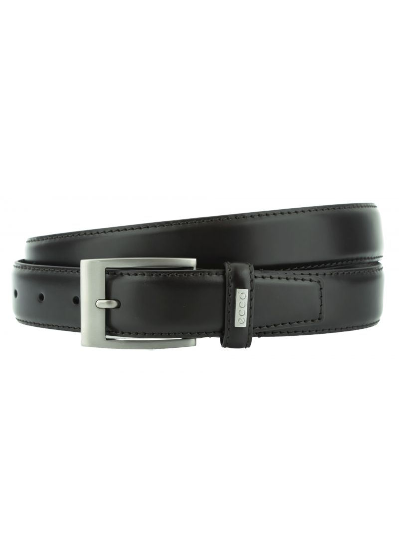 PASEK ECCO CLASSIC BELT PRONGUE BUCKLE COFFEE