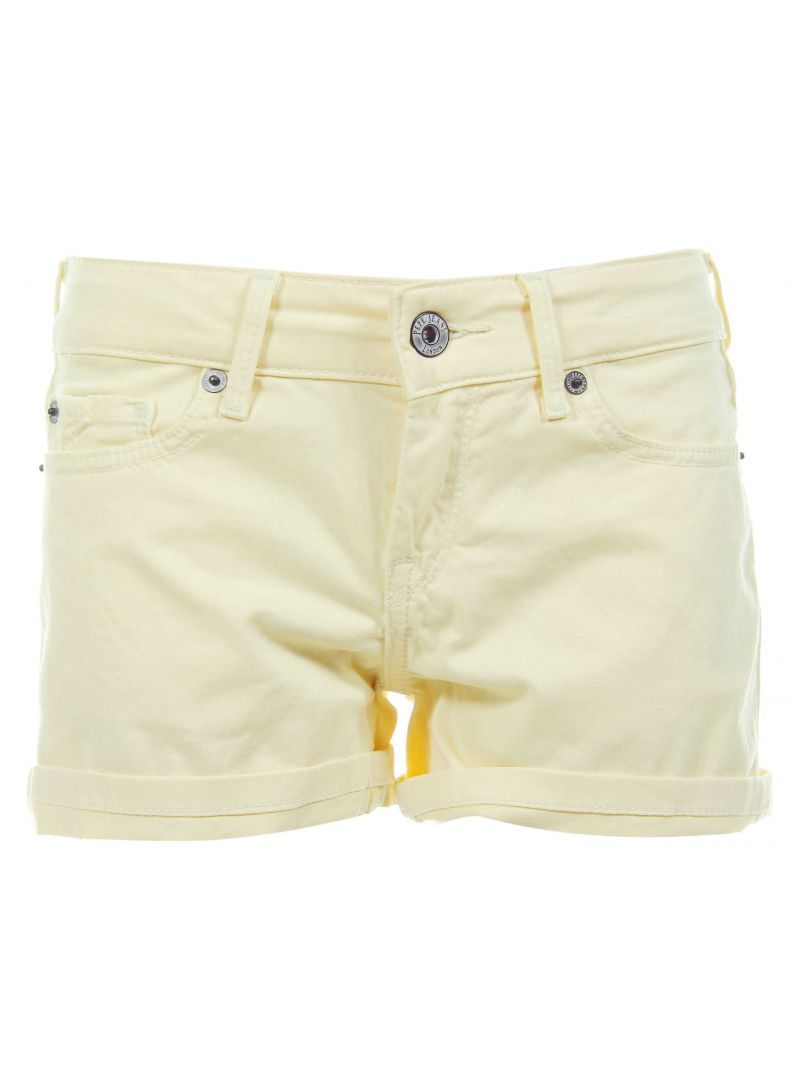 SZORTY PEPE JEANS CANDY SHORT SORBET LEMON