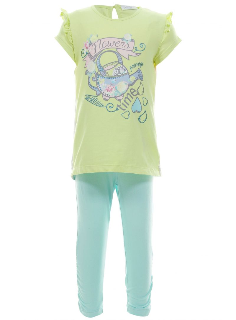For babies TUNIKA I PRIMIGI COMPLETO T-SHIRT CON LEGGINGS