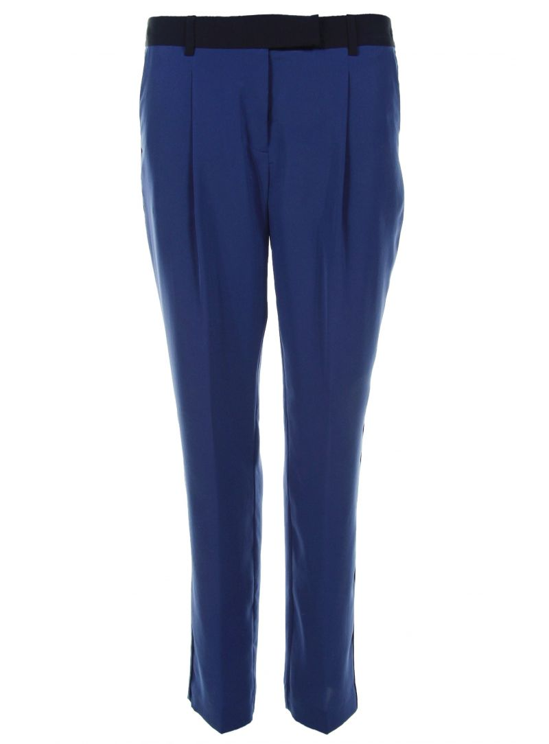 Spodnie TOMMY HILFIGER Shaina Pants Blue Depths Masters Black