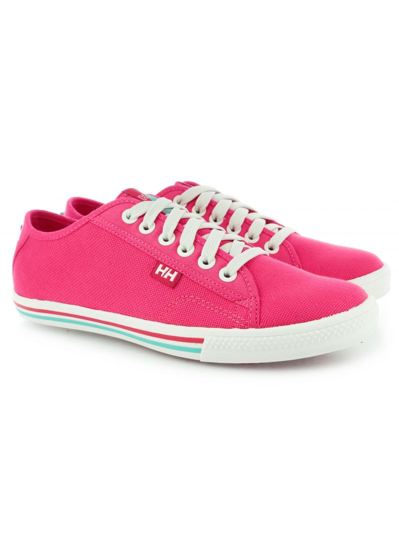 TRAMPKI HELLY HANSEN OSLO FJORD CANVAS 241 PINK SHAKE OFF WHITE MIAMI