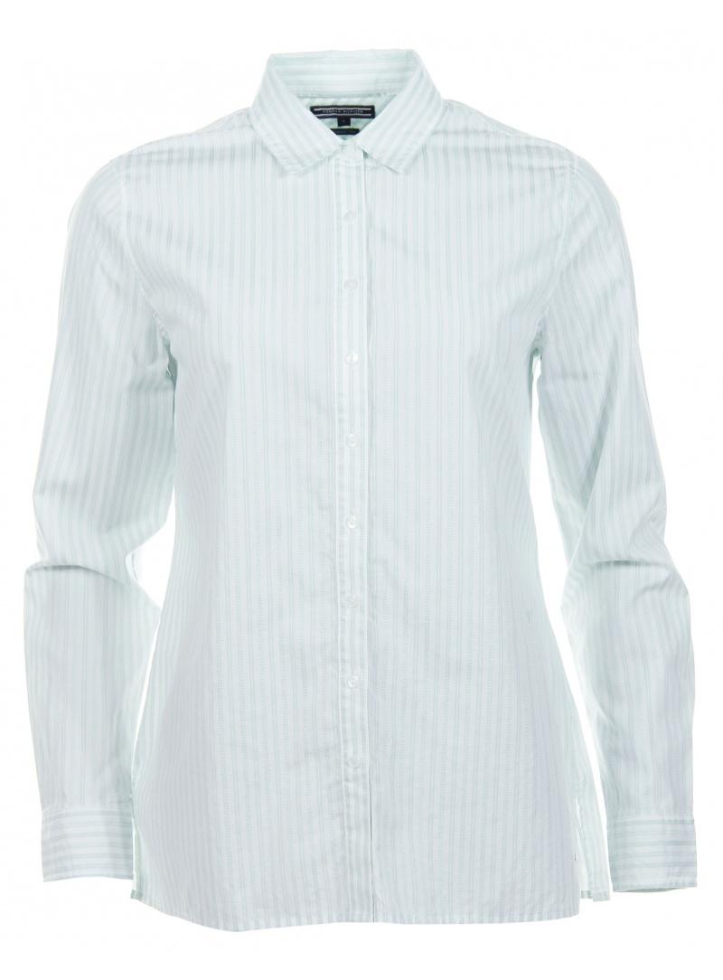 Koszula TOMMY HILFIGER Carys Stripes Shirt Eggshell Blue Classic