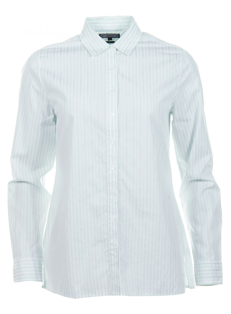 Mokassins TOMMY HILFIGER Carys Stripes Shirt Eggshell Blue