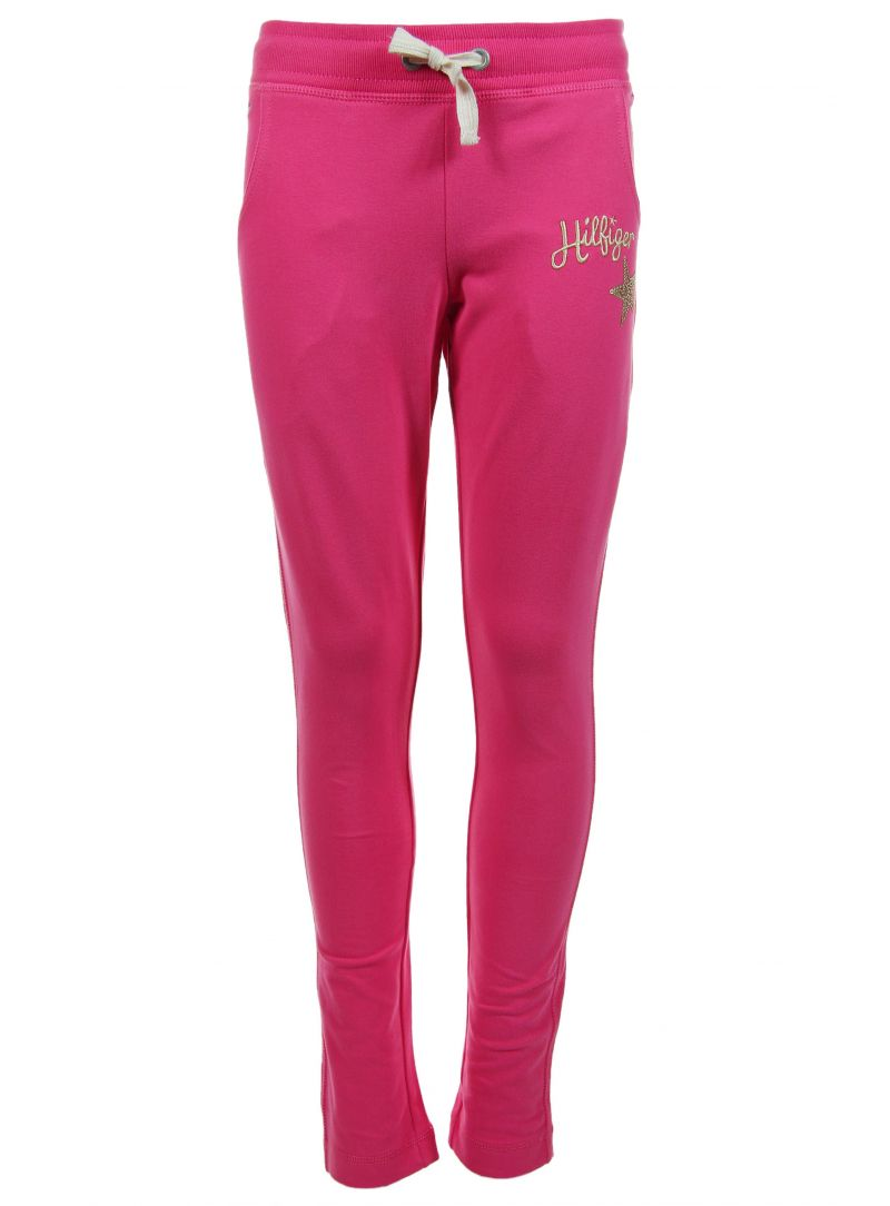 Spodnie TOMMY HILFIGER Carley Jogging Pant Raspberry Sorbet