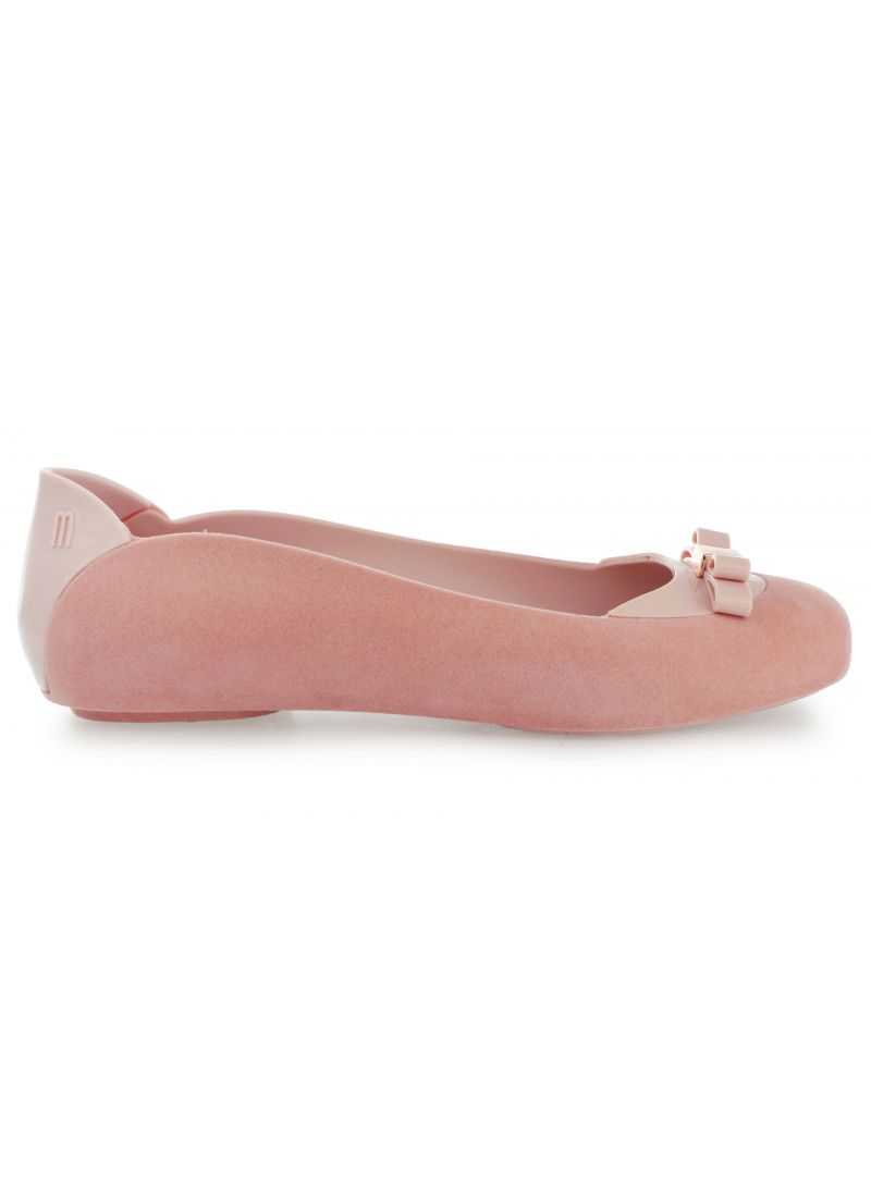 Balerinki Melissa PUMP IT FLOCKED AD PINK