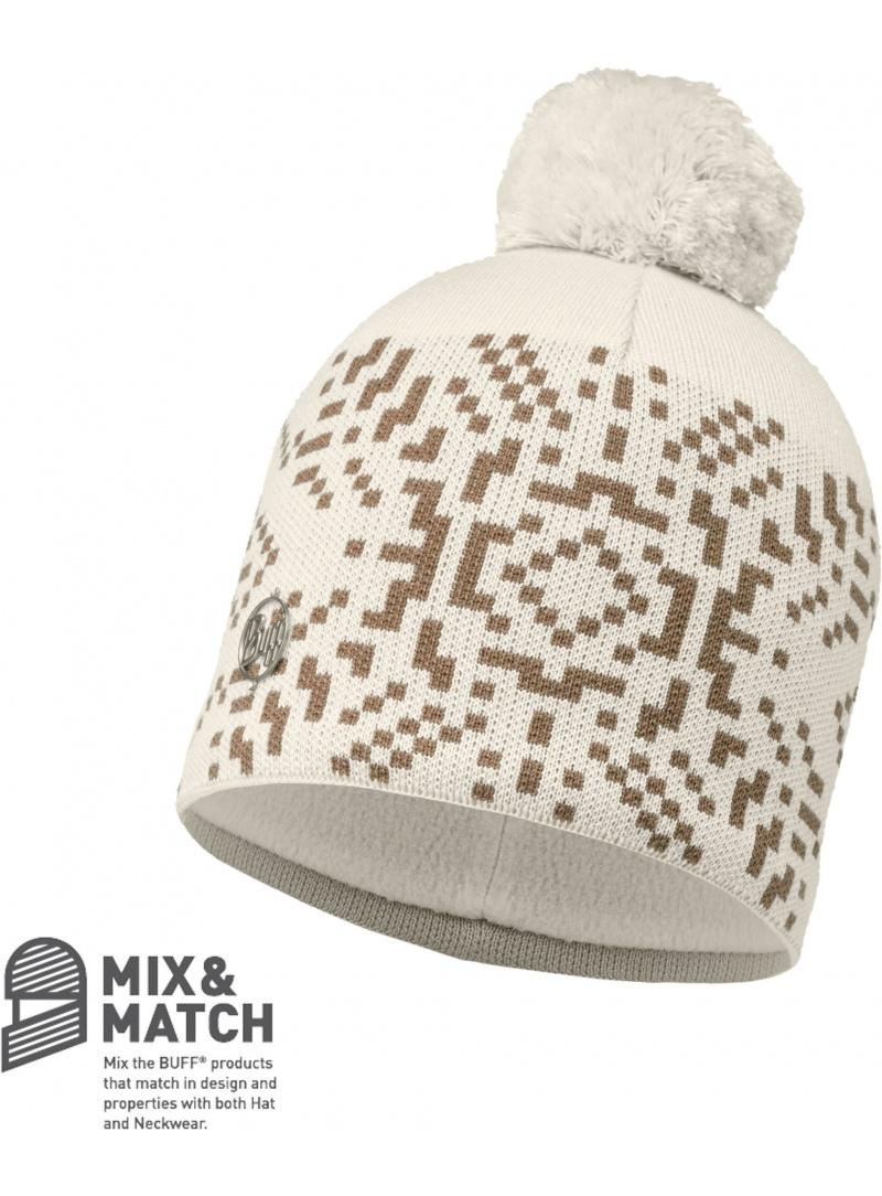 Czapka Buff Knitted & Polar Whistler Cru