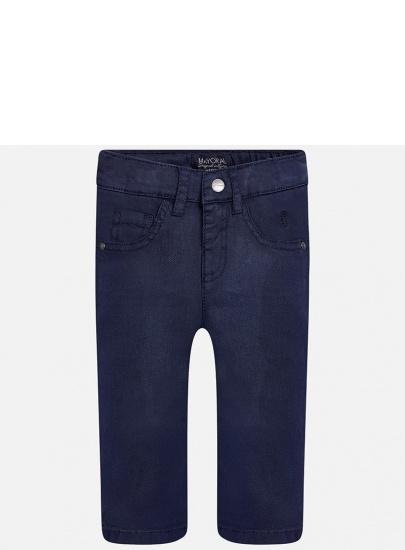 Granatowe spodnie dla...