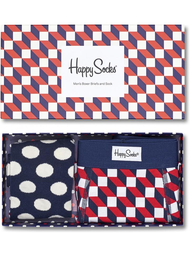 Combo Box Męski HAPPY SOCKS XFIO90-6000 (2-PAK) - Bielizna