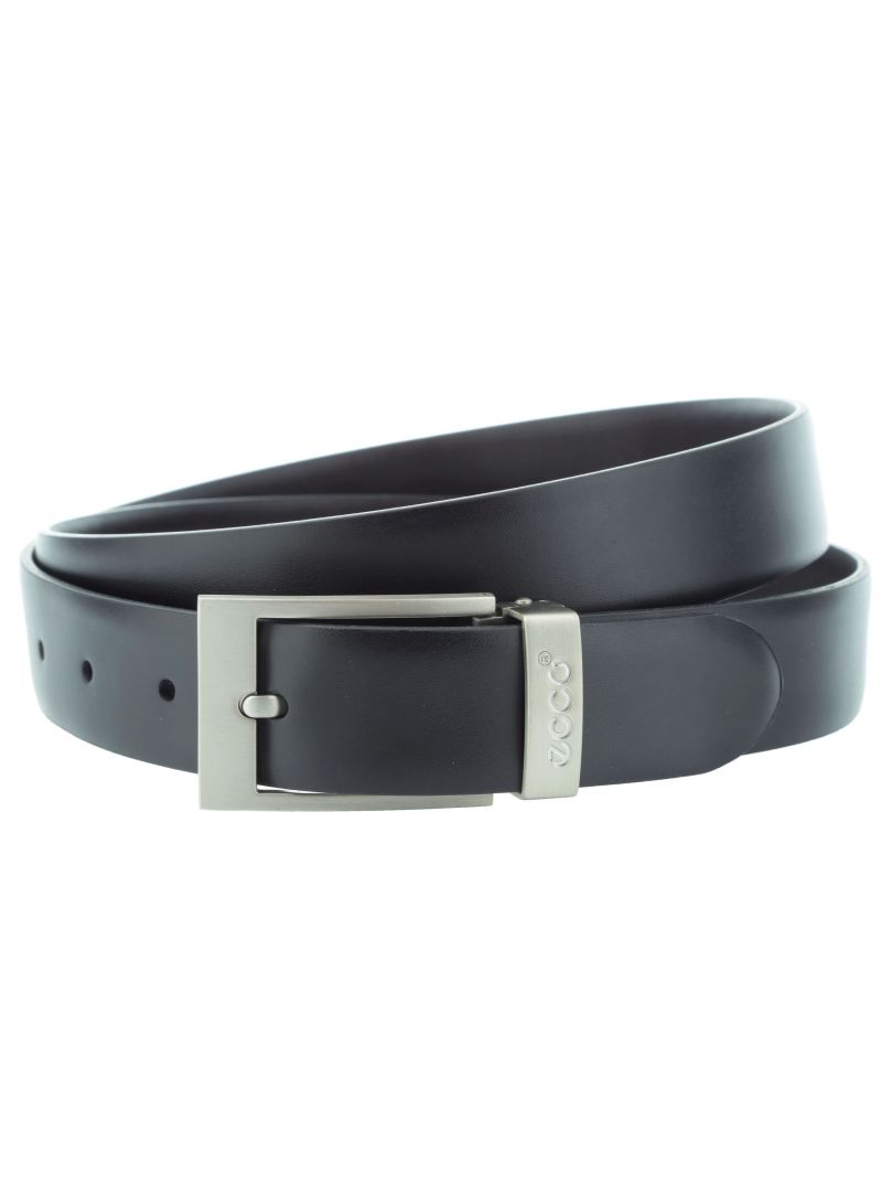 PASEK ECCO BELT BOX PRONGUE SQUARE BUCKLE - Paski